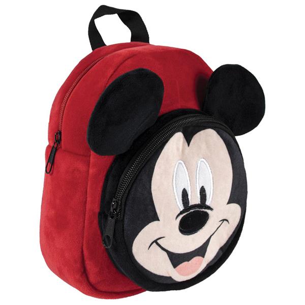 Ranac za vrtić Mickey džep-oblik Cerda 2100003384 crveno-crni - ODDO igračke