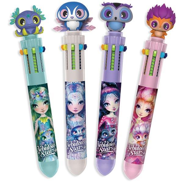 Nebulous Stars – 10-Colour Ballpoint Pen Assortment Hemijska olovka 10 boja 11591 - ODDO igračke