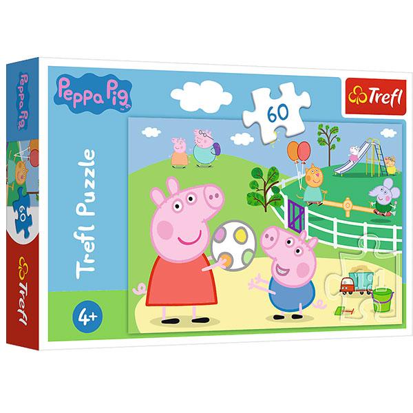 Trefl Puzzle Peppa Pig 60pcs 17356 - ODDO igračke