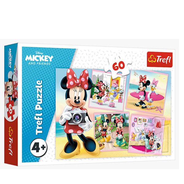 Trefl Puzzle Minnie Mouse 60pcs  17360 - ODDO igračke