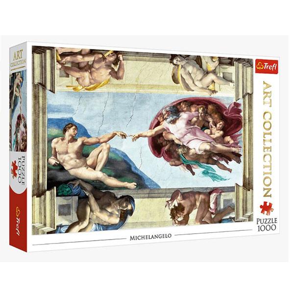 Trefl puzzla Art The Creation of Adam  1000pcs 10590 - ODDO igračke