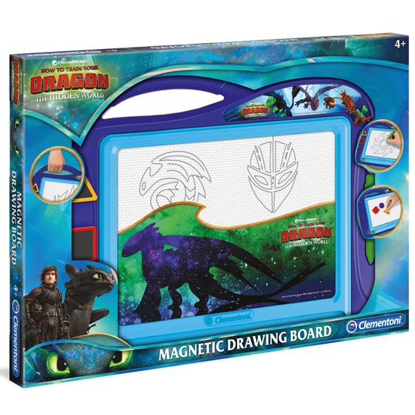 Clementoni Magnetna tabla za pisanje Dragon 47x34cm 15282 - ODDO igračke