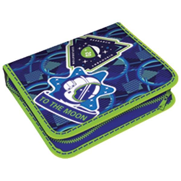 Pernica puna 1zip 2preklopa Space 1A 21.Connect 45043 plavo-zelena - ODDO igračke