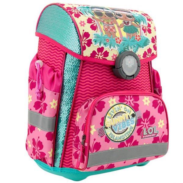 Školska torba anatomska LOL Sunny Vibes Hawai LOLFSB2140 - ODDO igračke