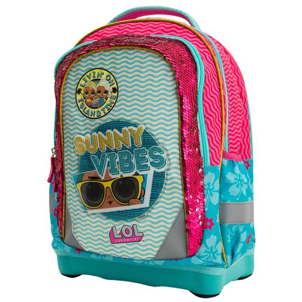Školska torba anatomska LOL Sunny Vibes LOLFET2150 - ODDO igračke