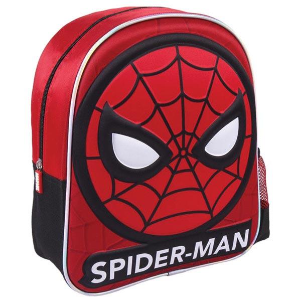 Ranac predškolski 3D Spiderman Cerda 2100003535 crno-crveni - ODDO igračke