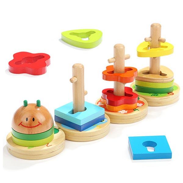 Top Bright geometrijski oblici - Gusenica 7152 - ODDO igračke