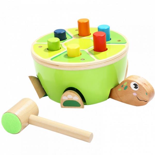 Top Bright drvena kornjača sa čekićem 120332 - ODDO igračke