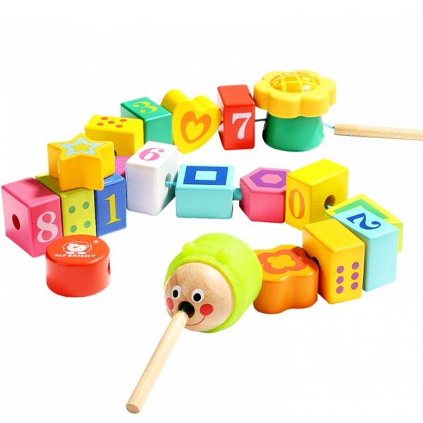 Top Bright Edukativna igračka  Naniži gusenicu 120306 - ODDO igračke