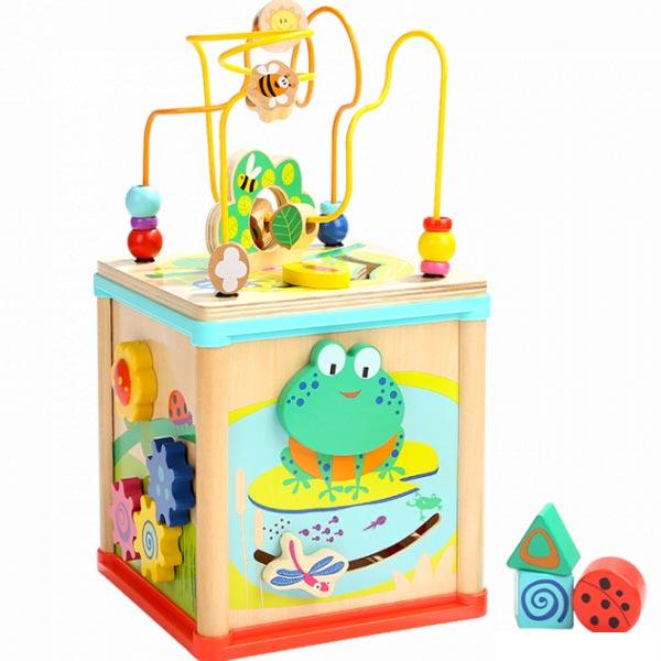 Top Bright Activity kocka 5 u 1 U bašti 120326 - ODDO igračke