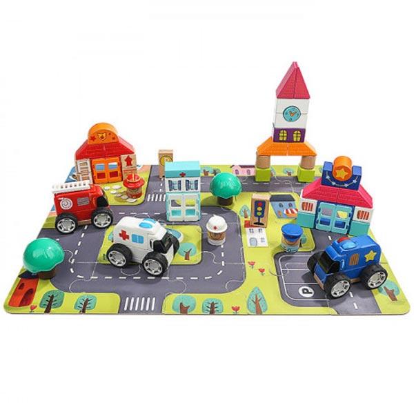Top Bright kocke blokovi Grad 82 dela 120408 - ODDO igračke