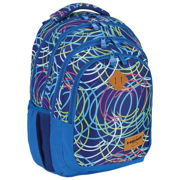 Ranac djački-notebook sa ojačanjem HD-103 Head 502018042 plavo-zeleni - ODDO igračke