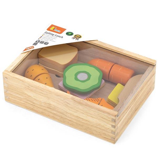 Viga Drveni set seckamo ručak 44542 - ODDO igračke