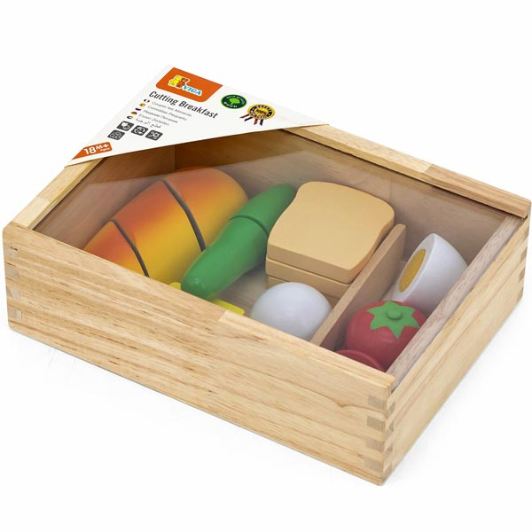 Viga Drveni set seckamo doručak 44541 - ODDO igračke