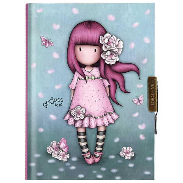 Dnevnik sa ključićem Cherry Blossom Gorjuss 577GJ16 - ODDO igračke