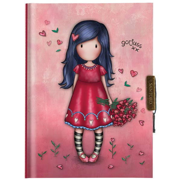 Dnevnik sa ključićem Love Grows Gorjuss 577GJ17 - ODDO igračke