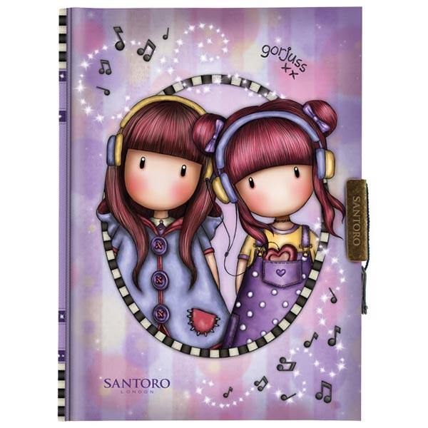 Dnevnik sa ključićem The Duet Gorjuss 577GJ21 - ODDO igračke