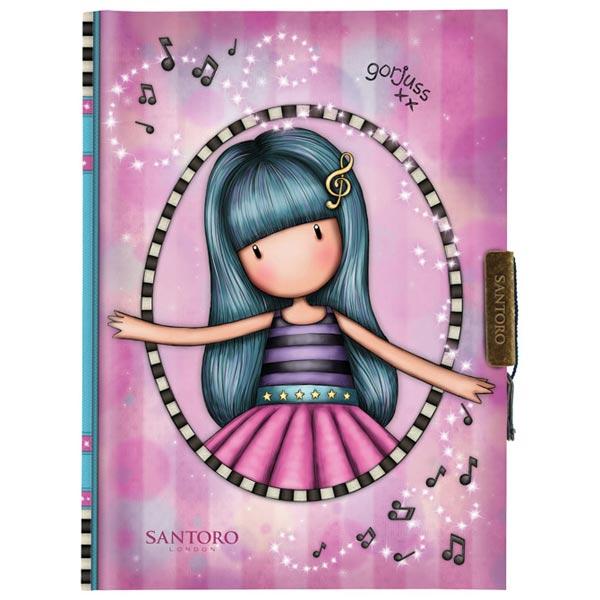 Dnevnik sa ključićem Dancing Among the Stars Gorjuss 577GJ19 - ODDO igračke