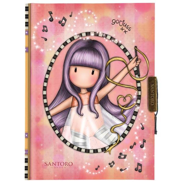 Dnevnik sa ključićem Little Dancer Gorjuss 577GJ20 - ODDO igračke