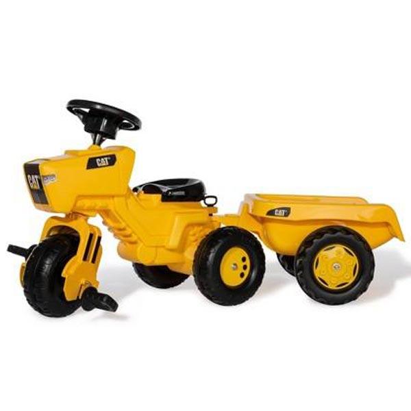 Traktor Cat sa prikolicom Rolly Toys 052936 - ODDO igračke