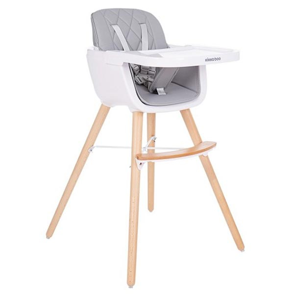 Hranilica stolica za hranjenje Woody 802 Grey 31004010082-802 - ODDO igračke