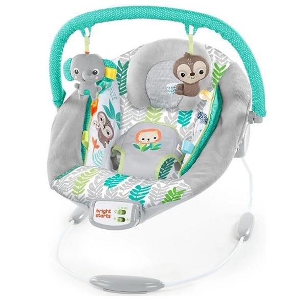 Kids II Bright Starts Ležaljka - Jungle Vibes SKU12312 - ODDO igračke
