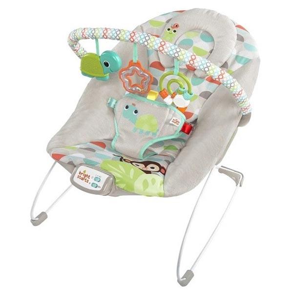 Kids II Bright Starts Ležaljka - Happy Safari SKU11508 - ODDO igračke