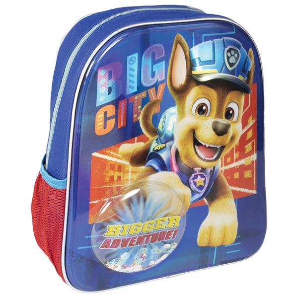 Ranac predškolski sa konfetama Patrolne šape Cerda 2100003457 plavi - ODDO igračke