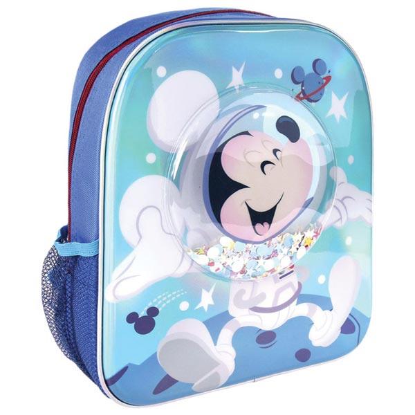 Ranac predškolski sa konfetama Mickey Cerda 2100003451 plavi - ODDO igračke
