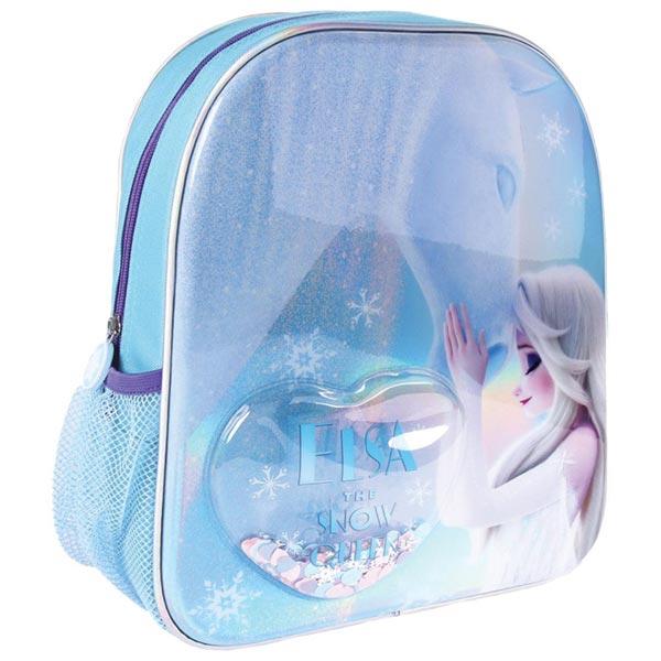 Ranac predškolski sa konfetama Frozen2 Elsa Cerda 2100003456 plavi - ODDO igračke