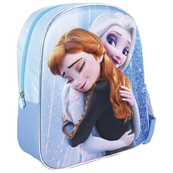 Ranac predškolski 3D Frozen2 Elsa/Anna Cerda 2100003421 plavi - ODDO igračke