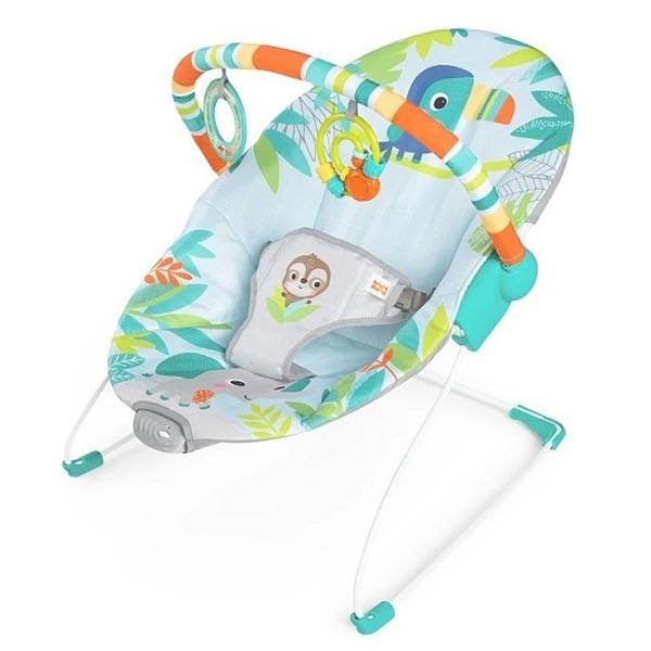 Kids II Bright Starts Ležaljka - Rain Forest Vibes SKU12227 - ODDO igračke