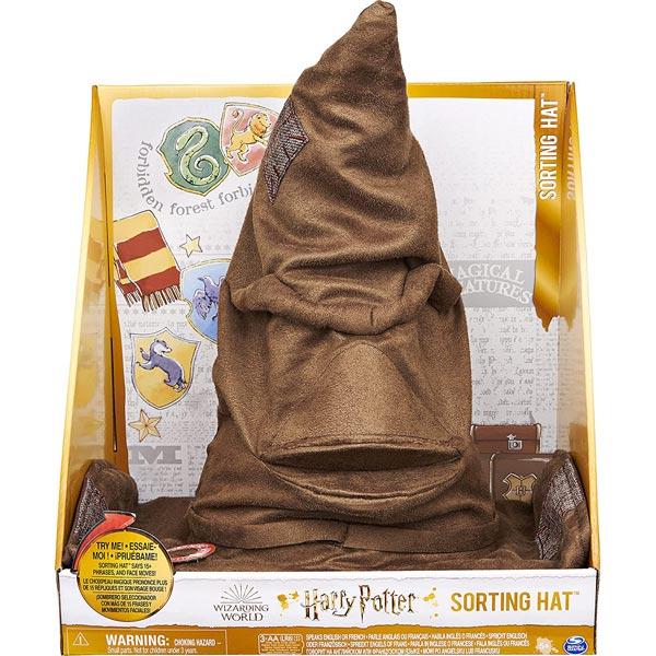 Čarobni šešir Harry Potter šešir za sortiranje sa 15 fraza Spin Master SN6061830 - ODDO igračke