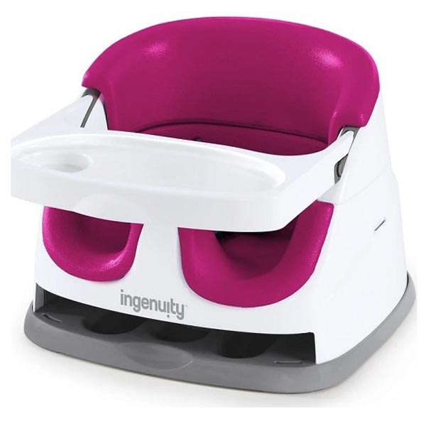 Kids II Ingenuity Booster Hranilica Flambe Pink SKU11579 - ODDO igračke