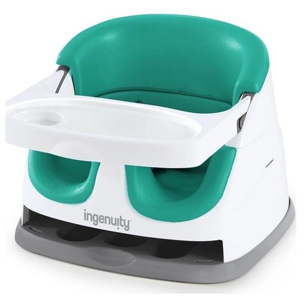 Kids II Ingenuity Booster Hranilica Ultramarine Green SKU11574 - ODDO igračke