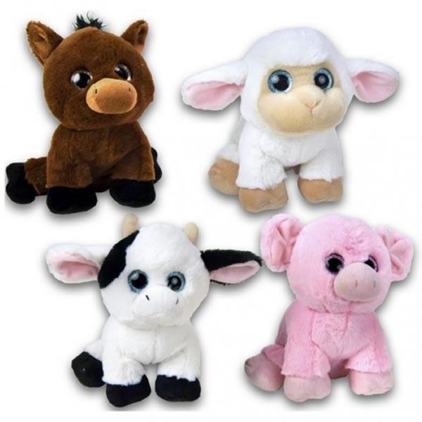Plišane igračke životinje sa farme 20cm 35161 - ODDO igračke
