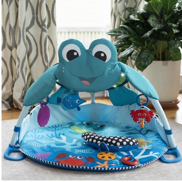 Kids II Bright Starts Podloga za Igru Neptune Under the Sea SKU11753 - ODDO igračke