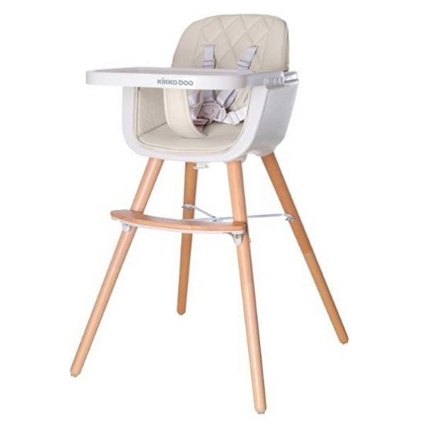 Hranilica stolica za hranjenje Woody 802 Beige 31004010081-802 - ODDO igračke