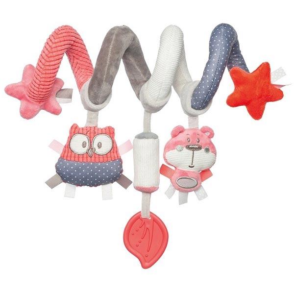 Canpol Baby plišana igračka za krevetac Pastel Friends - Coral 68/064 - ODDO igračke
