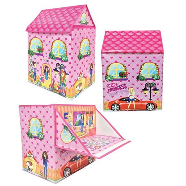 Kutija za igračke kućica 2u1 za devojčice 005626 - ODDO igračke