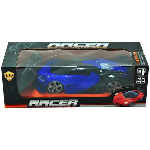 Trkački auto srednji sa daljinskim upravljanjem - plavi 50191 - ODDO igračke