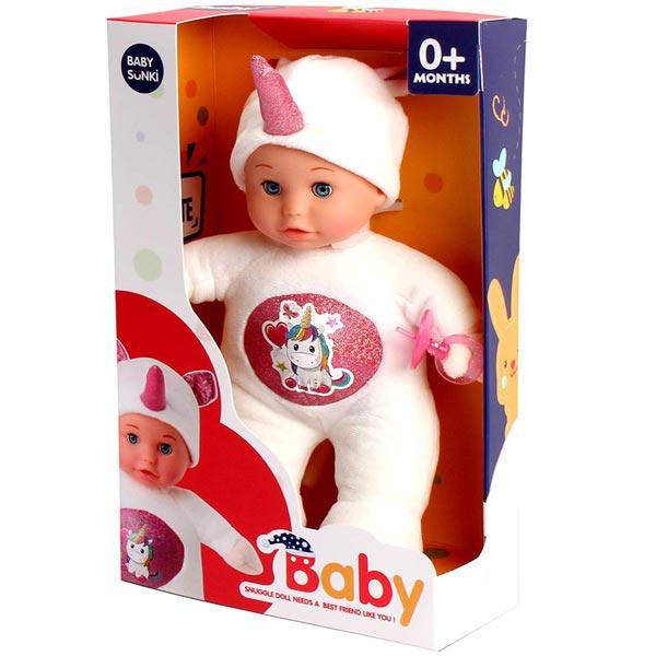 Lutka beba 30cm igračka 2u1 Plišana igračka 1807H - ODDO igračke