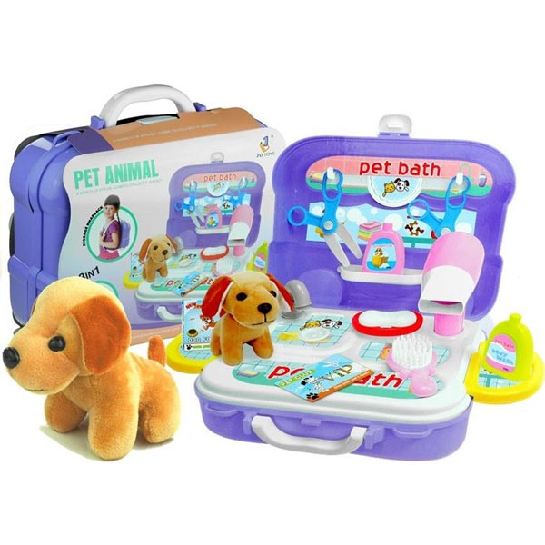 Kofer ranac Nega ljubimaca 20 delova 59124 - ODDO igračke