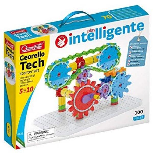 Quercetti Georello Tech Starter Set Construction of Gears Set zupčanici 6136 - ODDO igračke