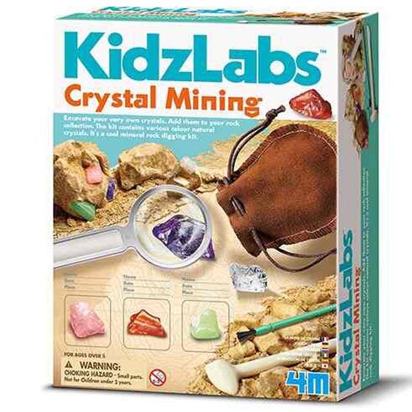 4M Crystal Mining Mini rudnik 4M03252 - ODDO igračke
