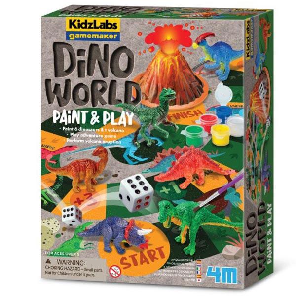 4M Dino World Paint and Play 4M03400 - ODDO igračke