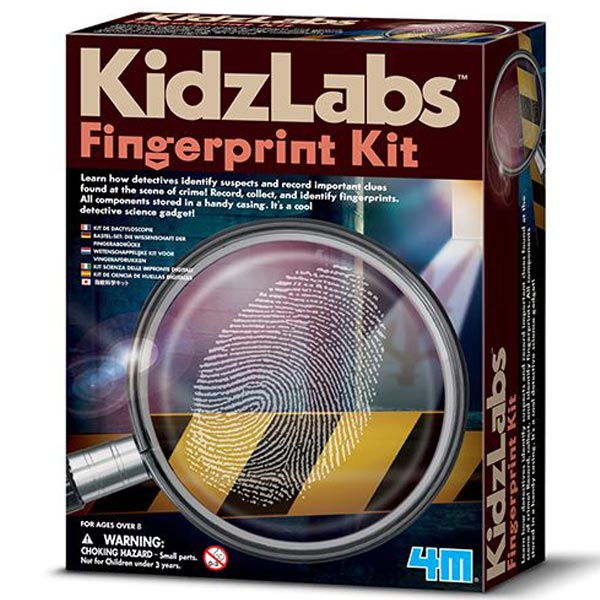 4M Fingerprint kit Set za uzimanje otisaka 4M03248 - ODDO igračke