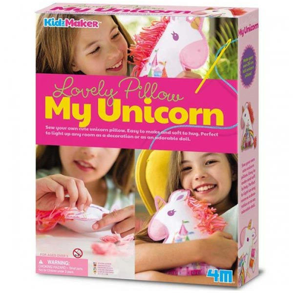4M Lovely Pillow My Unicorn Jastuk jednorog 4M04744 - ODDO igračke