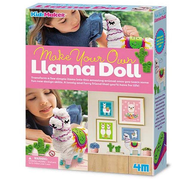 4M Napravi svoju Lama lutku 4M04755 - ODDO igračke