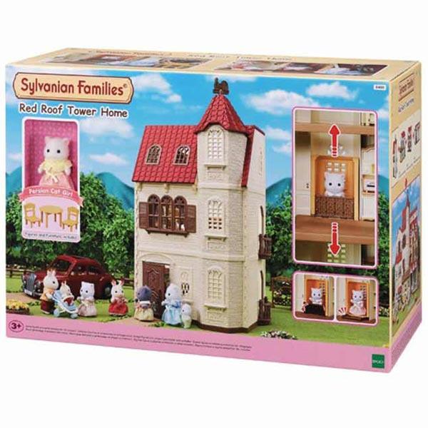 Sylvanian Red Roof Tower Home EC5400 - ODDO igračke